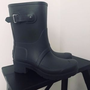 Hunter – Original Ankle Rain Boot Dark Slate